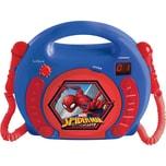 Lexibook Spider-Man Kinder CD-Player mit 2 Mikrofonen