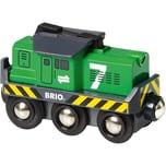Brio Batterie-Frachtlok