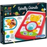 Clementoni Play Creative Gestalte Spiral-Tierchen