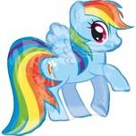 Amscan Figuren-Folienballon My Little Pony