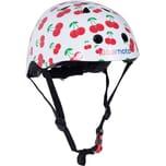 kiddimoto Fahrradhelm - Cherry süße Kirschen - S 48-53cm