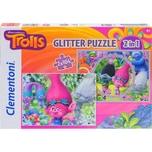 Clementoni Puzzle Trolls 2 X 104 Teile