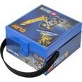 LEGO Brotdose mit Griff Nexo Knights blau