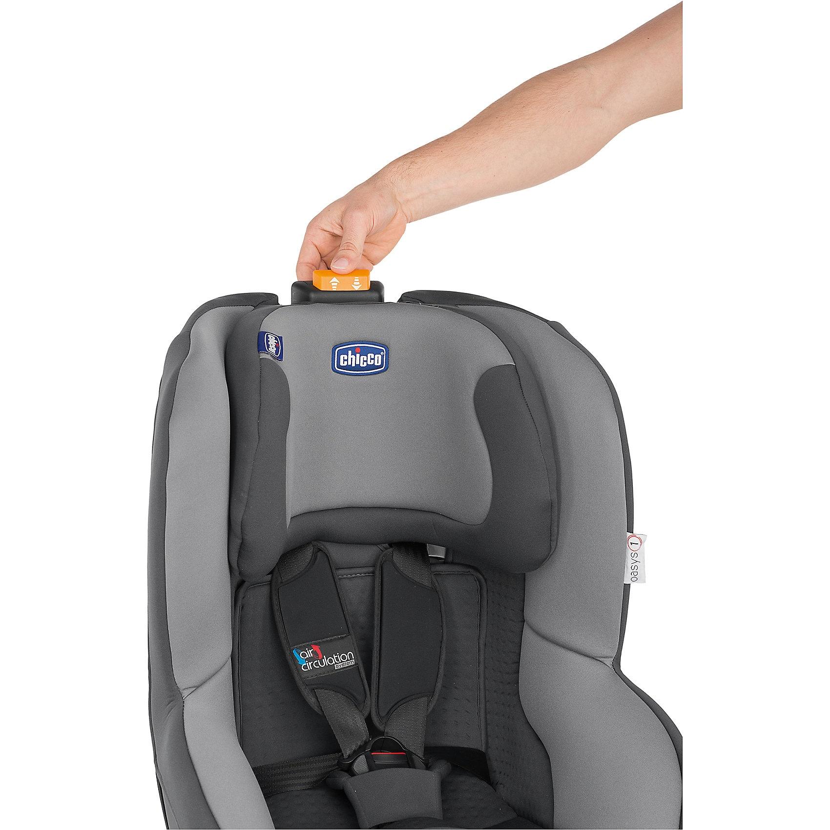 Chicco Auto-Kindersitz Oasis 1 Evo Isofix black night