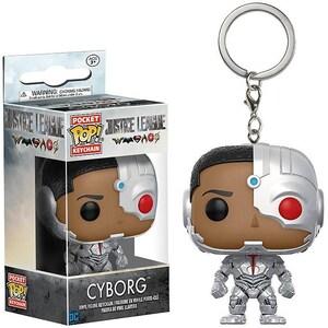 Funko Funko Pop! Schlüsselanhänger Figur Justice League Cyborg