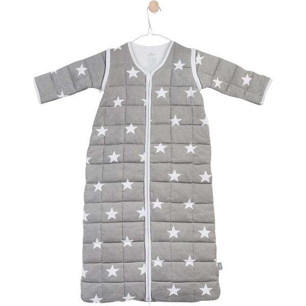 Jollein Schlafsack gesteppt Little Star grau