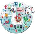 Clementoni Clock Puzzle 96 Teile Lama