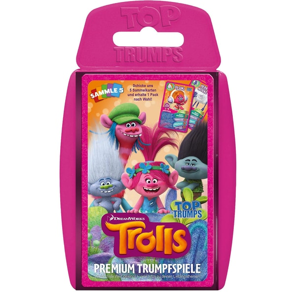 Winning Moves Top Trumps Trolls