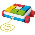 Mattel Fisher-Price Bausteinwagen Baby-Spielzeug Steckspiel Bausteine Sortierspiel