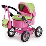 Bayer Puppenwagen Trendy rosa/grün