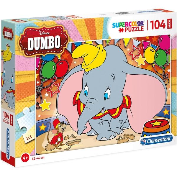 Clementoni Puzzle 104 Teile Maxi Dumbo