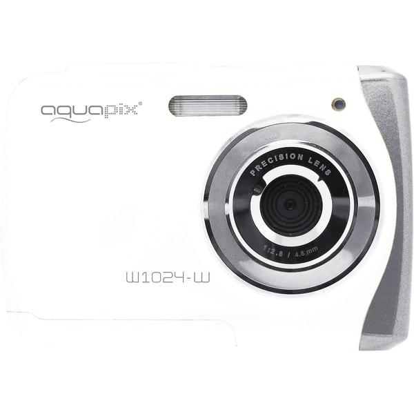 easypix Unterwasser Digitalkamera Aquapix W1024 Splash weiß