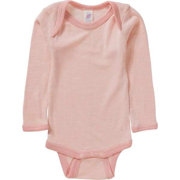 Engel Baby Body für Mädchen SchurWolle Seide