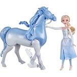 Hasbro Disney Die Eiskönigin 2 Wasserzauber und Landspaß Elsa Nokk