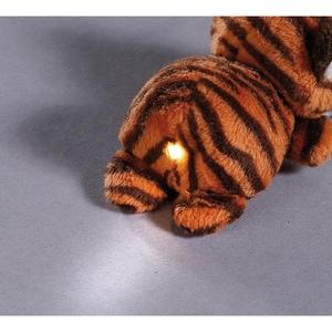 Nici LED-Plüsch-Handtaschenlicht Tiger Jerome 9 cm 44786