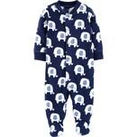 carter`s Baby Fleece-Schlafanzug mit Elefanten für Jungen