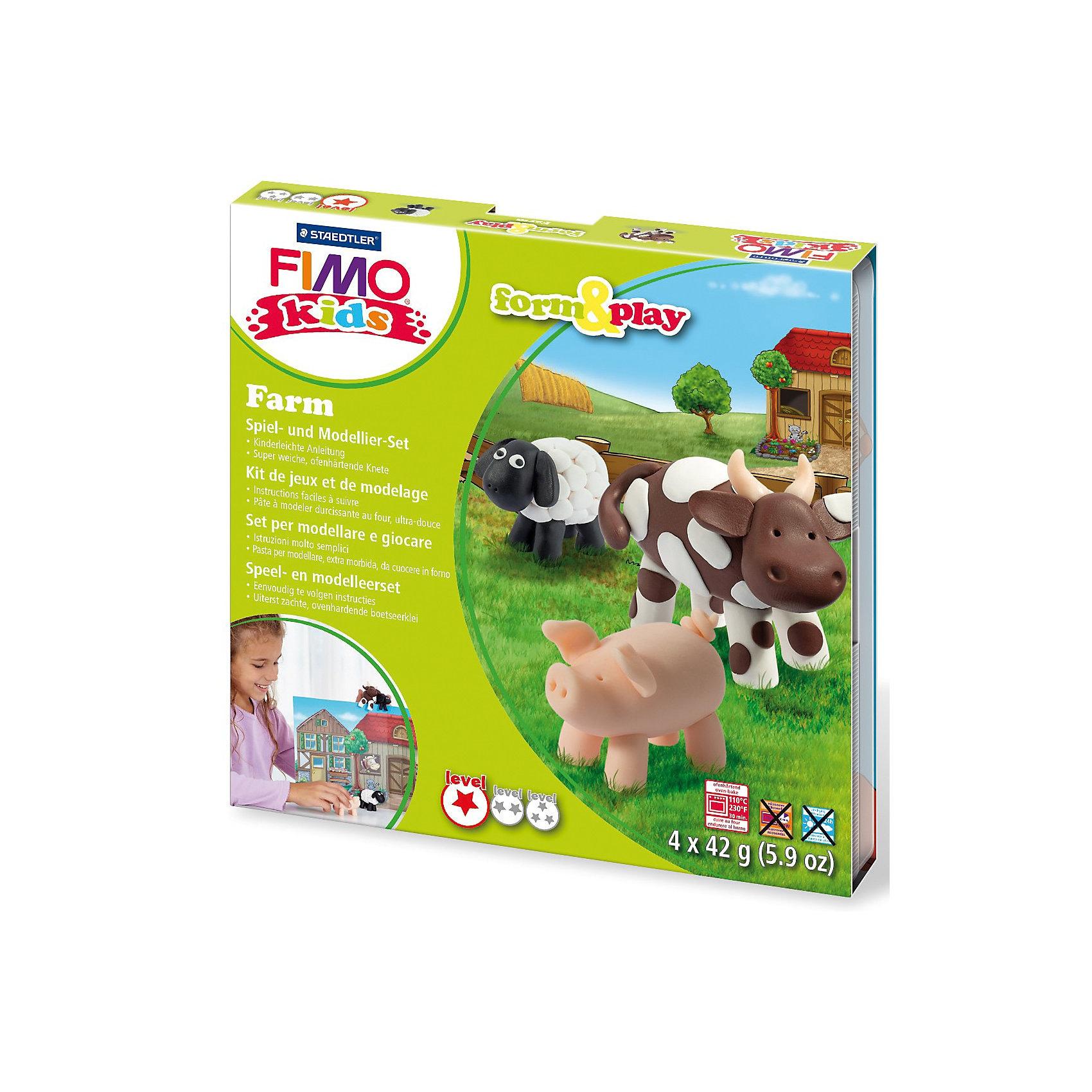 Staedtler Fimo kids Form Play Farm