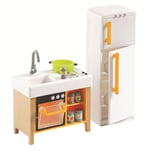 DJECO Puppenhaus - Kompakte Küche