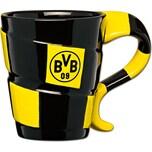 Borussia Dortmund BVB-Tasse mit Schal-Design