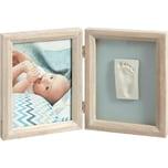 Baby Art Gipsabdruck Set mit 2-tlg. Bilderrahmen stormy