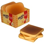 Chr. Tanner Golden Toast Scheiben aus Holz Spiellebensmittel
