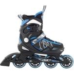 Fila Skates Inlineskate J-One Plus schwarz/blau