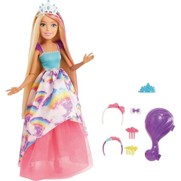 Mattel Barbie Dreamtopia Große Zauberhaar Prinzessin Puppe blond