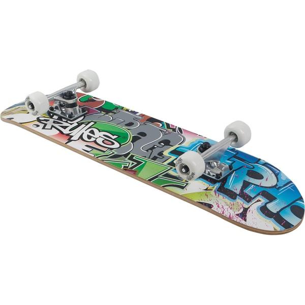No Rules Skateboard Pro ABEC 5 Graffiti