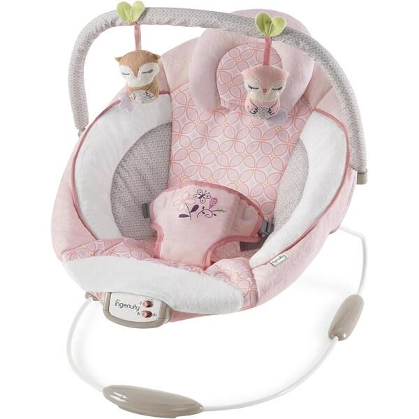 Ingenuity Wippe Cradling Bouncer™ Audrey™ rosaweiß