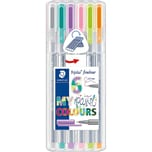 Staedtler Fineliner triplus My Colours Pastel 6 Farben