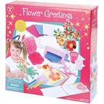 Playgo Kreativset Karten mit Blumengrüßen