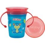 Nuby 360° Trinklerntasse Mit Griffen Wonder Cup 240 Ml Aqua