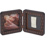 Baby Art Gipsabdruck Set mit 2-tlg. Bilderrahmen My Baby Touch Copper Edition Black Simple Ltd.Ed. 2