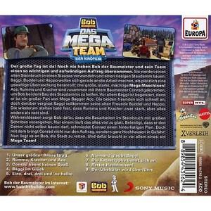 CD Bob der Baumeister Das Mega-Team Hörspiel zum Kinofilm