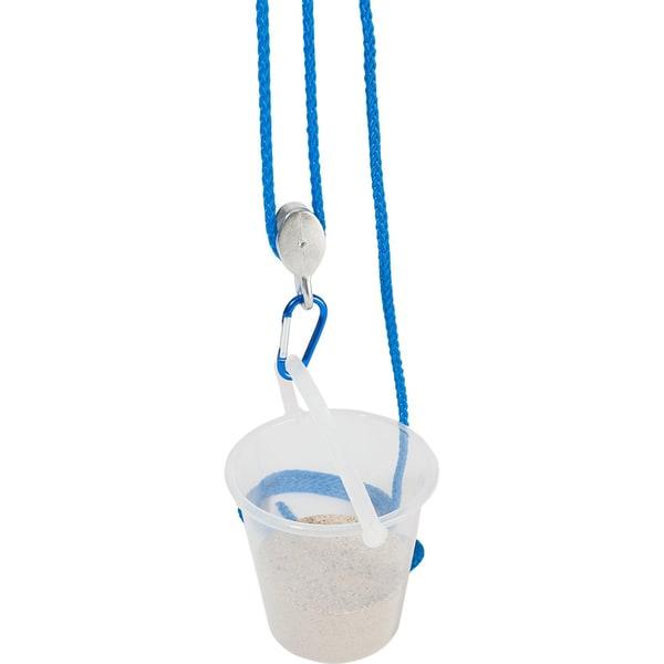 Eduplay Flaschenzug mit Eimer blau