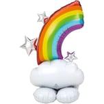 Amscan Folienballon AirLoonz Regenbogen 127 cm