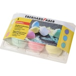 Eberhard Faber Straßenmalkreide in Eierform 6 Farben