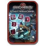 Pegasus Würfelset: Shadowrun Schattenwürfel rot Spiel