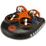 Amewi Trix - 3 in1 Hovercraft Drohne orange. Für Wasser - Land - Luft