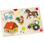 Selecta Me by Selecta Knopfpuzzle Bauernhof