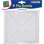Playbox Bügelperlen Steckplatten 2 Stück Quadrat zusammensteckbar