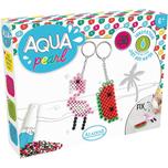 Aladine Aqua Pearl Set Schlüsselanhänger
