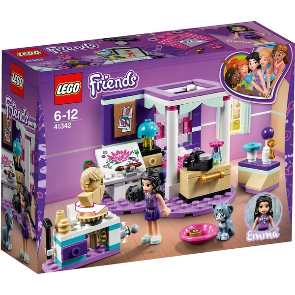 LEGO 41342 Friends Emmas Zimmer