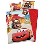 Herding Kinder Wendebettwäsche Disney Cars Renforcè 100x135 40x60cm