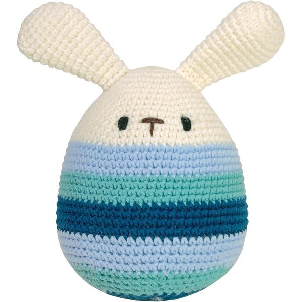 MaxiMo Häkel-Ei groß mit Ohren 17cm