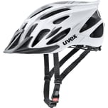 Uvex Fahrradhelm flash white black