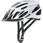 Uvex Fahrradhelm flash white black