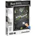Clementoni Puzzle 1000 Teile Black Board Cheers