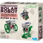 4M Eco Engineering 3in1 Mini Solar Robot