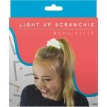 MAGS Leuchtendes Scrunchie Haarband